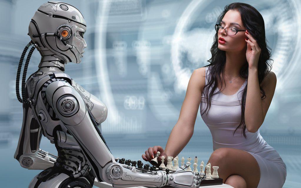Порно робот машина