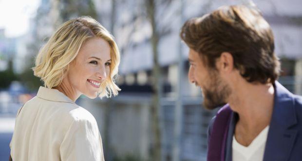 woman flirting